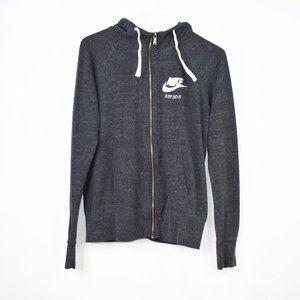 Nike Dark Grey Just Do It Full Zipper Jacket M